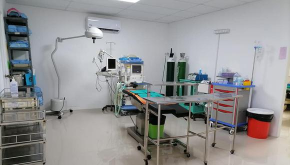 Piura: implementan centro quirúrgico del hospital de Apoyo II-2 de Sullana para pacientes COVID-19 (Foto: hospital de Apoyo II-2)