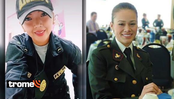 Conoce a la joven policía que le hace 'competencia' a Jossmery Toledo en TikTok