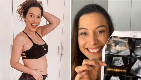 Natalia Salas emocionada revela el sexo de su bebé. (Foto: @nataliasalasz)