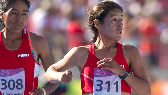 Inés Melchor será una de las principales cartas del atletismo peruano para la prueba de fondo en los Juegos Panamericanos Lima 2019. (Foto: AFP)