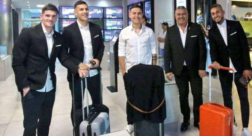 Lionel Messi y la selección argentina llegaron a Brasil