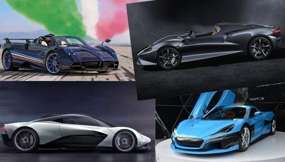 A los carros más caros del mundo llegó una tendencia, la de los motores híbridos o eléctricos. Mira la lista.