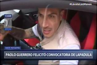 "Paolo Guerrero da su 'bendición' a convocatoria de Gianluca Lapadula: ""Estoy feliz, viene a sumar"""