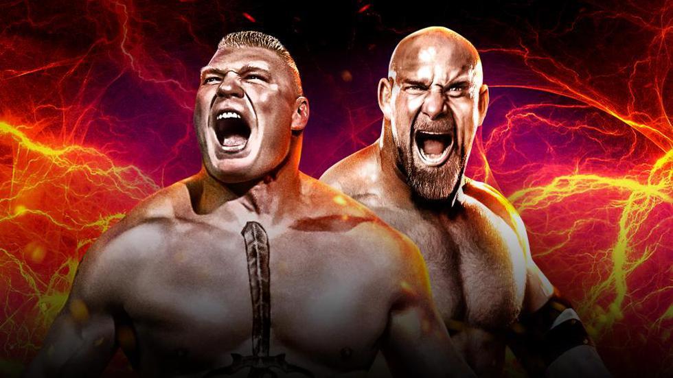 Goldberg vs. Brock Lesnar será el combate principal de WWE Survivor Series. (WWE)
