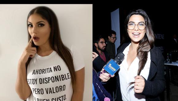 Tilsa Lozano aclaró que no puede pelearse con Ivana Yturbe, porque es una chica de 20 años. (Foto: Instagram)