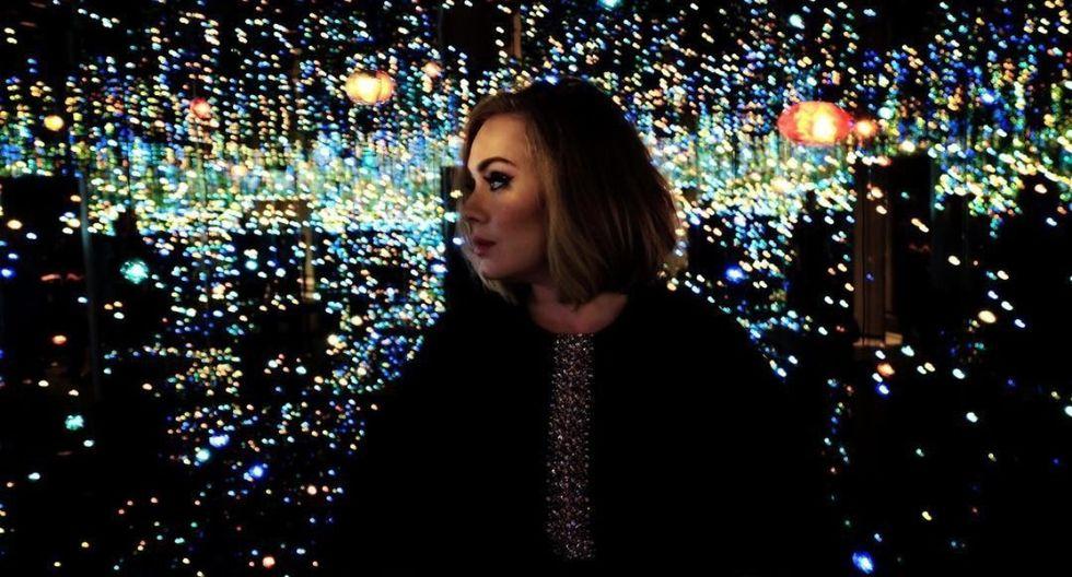 Adele y una nueva foto en la que luce irreconocible. (Foto: Instagram oficial)