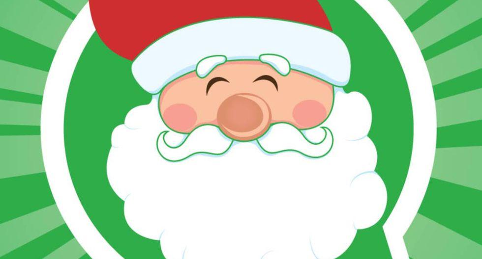 Llega la Navidad y varios deseas compartir stickers como mensaje en la aplicación. (Foto: WhatsApp)