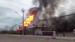 Al menos  30 heridos y dos muertos en explosión de tubería de gas en Tailandia