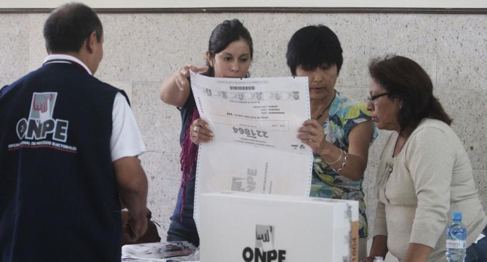 509,106 ciudadanos fueron elegidos para ser miembros de mesa en las elecciones parlamentarias de este domingo 26. (Foto: GEC)