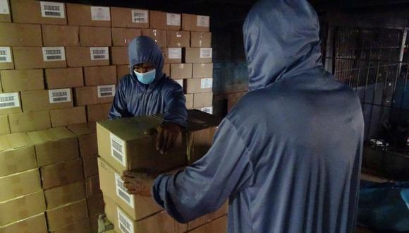 Loreto: Inician entrega de 2419 toneladas de alimentos para más de 113 mil ciudadanos indígenas (Foto: Qali Warma)
