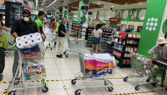 Los supermercados, restaurantes y mercados tendrán más aforo. (GEC)