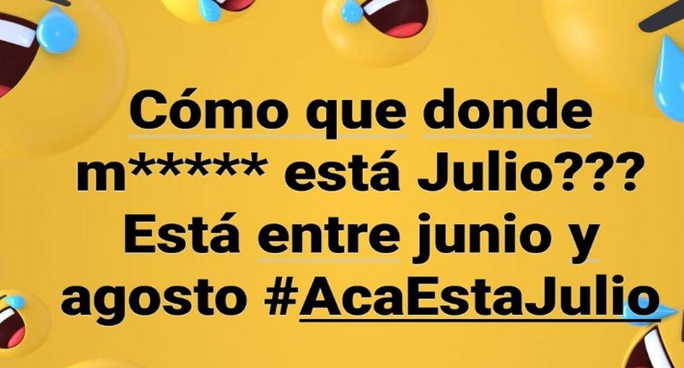 """""""¿Dónde m...a se encuentra Julio?"""", la nueva sensación en memes y hasta un remix. (Fotos: Facebook/Twitter)"""