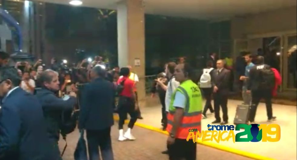 Selección llegó a Río de Janiero para final de la Copa América