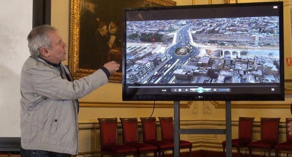 Alcalde de Lima habla sobre avances de obra 'Línea Amarilla' (ex Vía Parque Rímac).