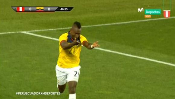 Gol 1 de Ecuador