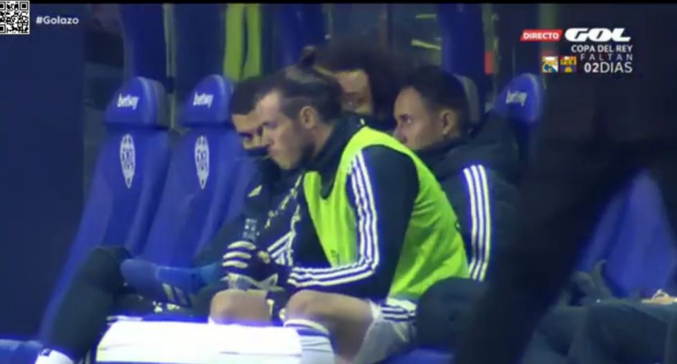 Gareth Bale y el otro desplante que le hizo al entrenador de Real Madrid.