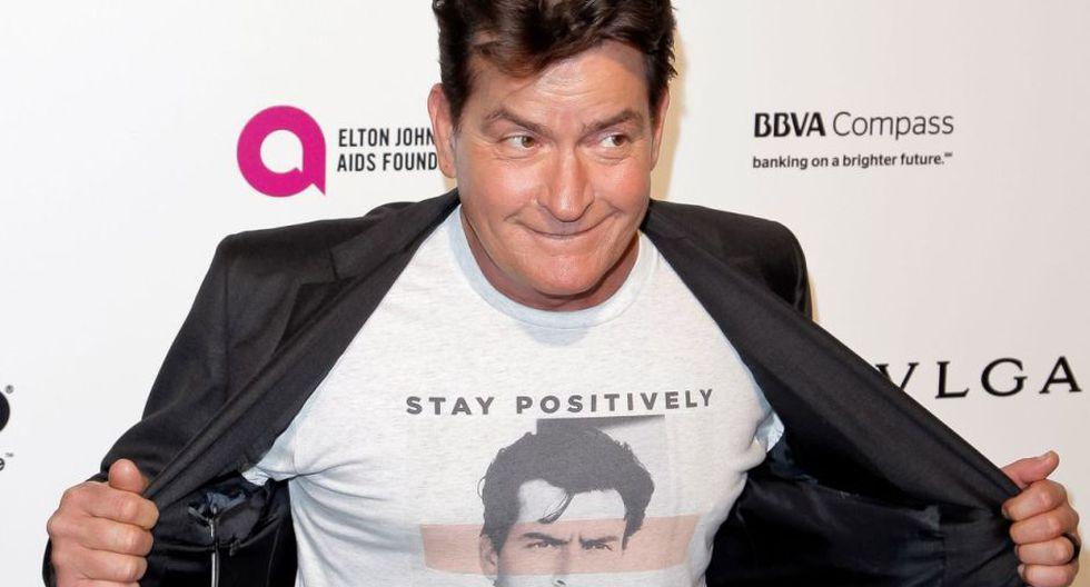 Sheen reveló el 2015 que fue diagnosticado con Sida hace cuatro años.