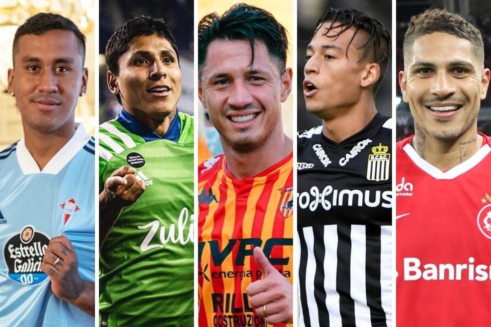 Los 20 jugadores peruanos más valiosos del mercado.