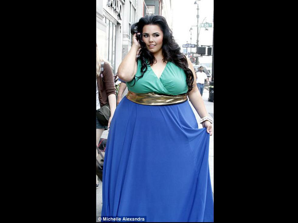 Rosie Mercado con 186 kilos.