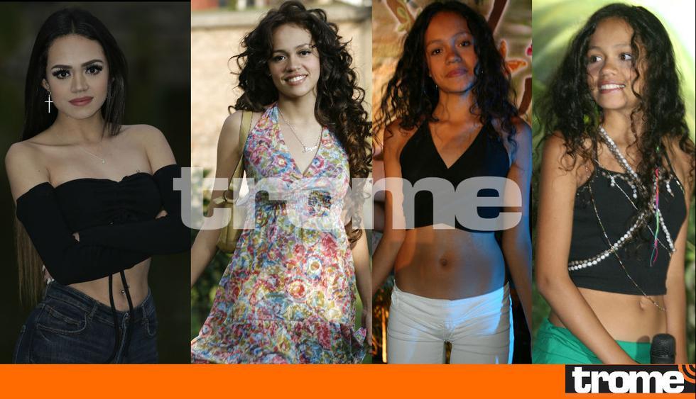Mayra Goñi y su evolución en la TV que la convirtió hoy en una reconocida actriz y cantante. (Fotos Trome)