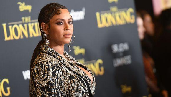 Beyoncé recibió un reconocimiento en la edición virtual de los BET Awards 2020. (Foto: AFP).
