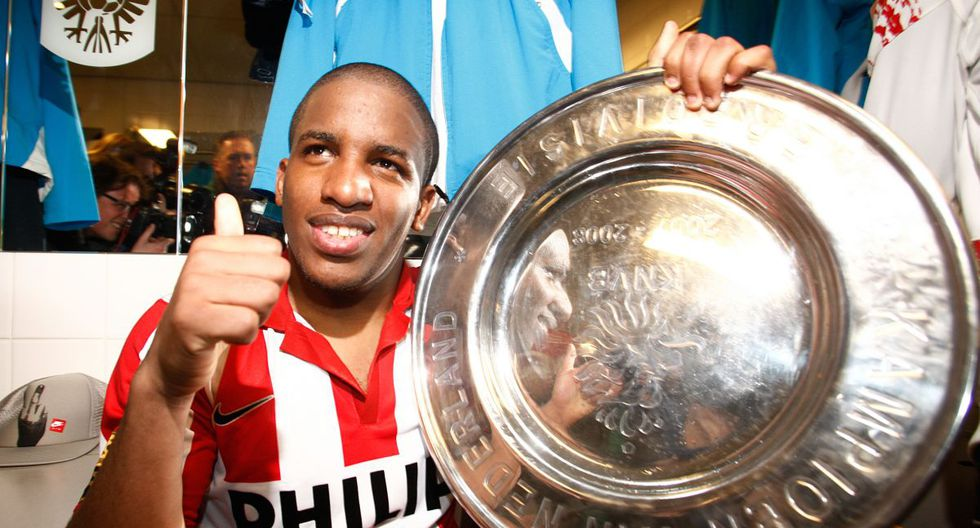 Jefferson Farfán anotó 67 goles con PSV Eindhoven en 4 temporadas