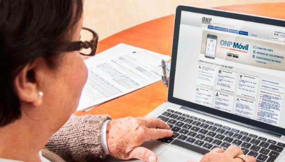 Conoce los pasos para solicitar tu clave virtual en la ONP. FOTO: ONP)