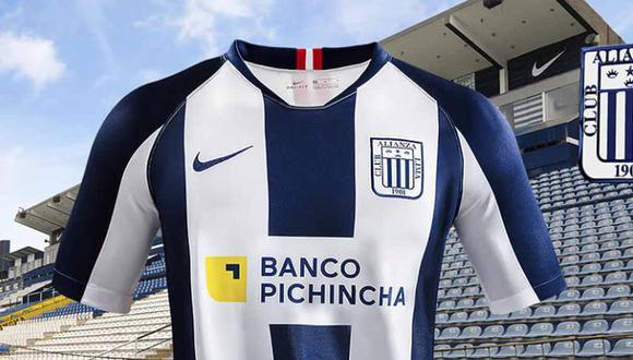 La camiseta versión 2020 de Alianza Lima. (Foto: Facebook)