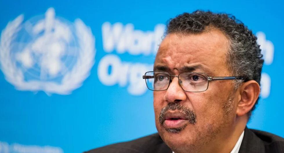 Director general de la OMS, Tedros Adhanom Ghebreyesus. (Foto: EFE)