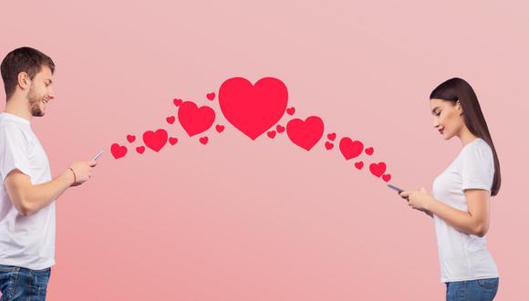 El enamoramiento de hoy en día por redes sociales.