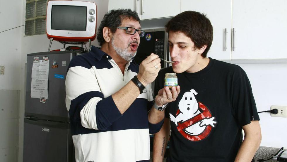 Hijo de Ricky Tosso agradeció apoyo a su padre.