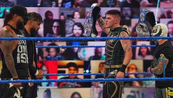 Rey Mysterio y Dominick se medirán a Los Usos. (WWE)