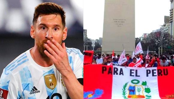 Argentina reconoció importantes lazos de amistad con Perú (Foto: AFP)