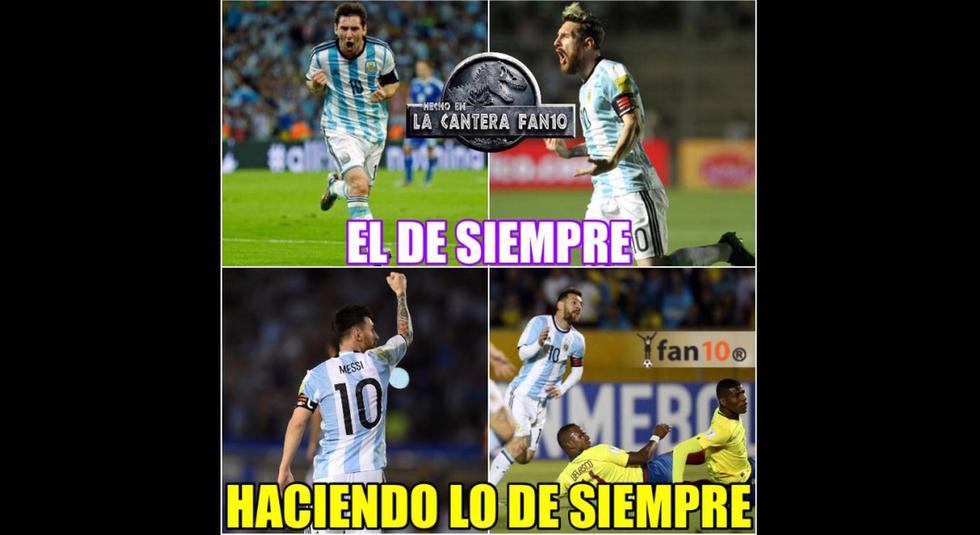 Memes del partido Argentina vs. Nigeria por el Mundial Rusia 2018.