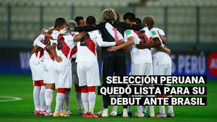 Selección peruana quedó lista para su debut de este jueves ante Brasil por la Copa América 2021