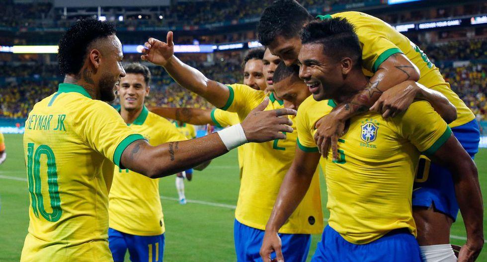 Brasil vs Colombia, amistoso en Miami por fecha FIFA