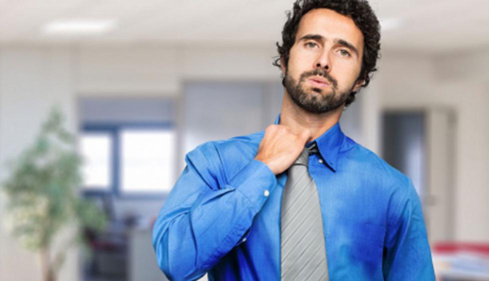 Sudar en exceso: se llama hiperhidrosis y resulta muy incómoda.