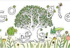 Google celebra con un artístico video doodle el Día de la Tierra