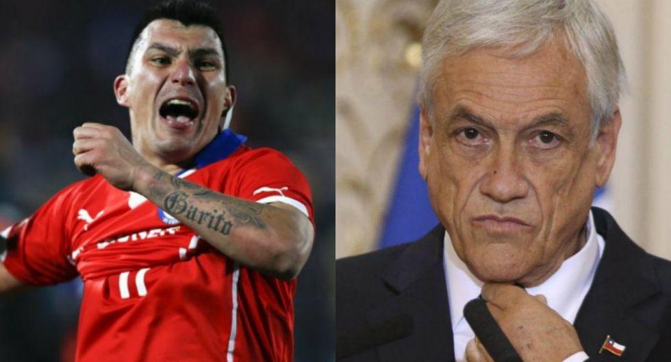Gary Medel arremete contra Piñera