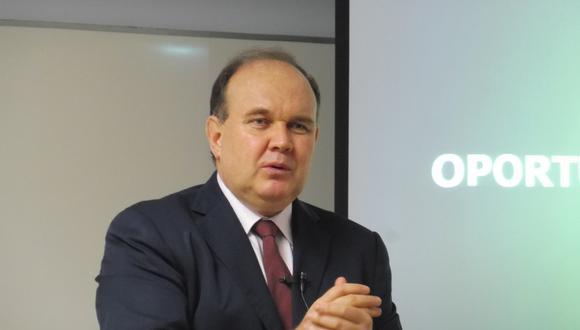 Rafael López Aliaga, candidato presidencial por Renovación Popular. (GEC)
