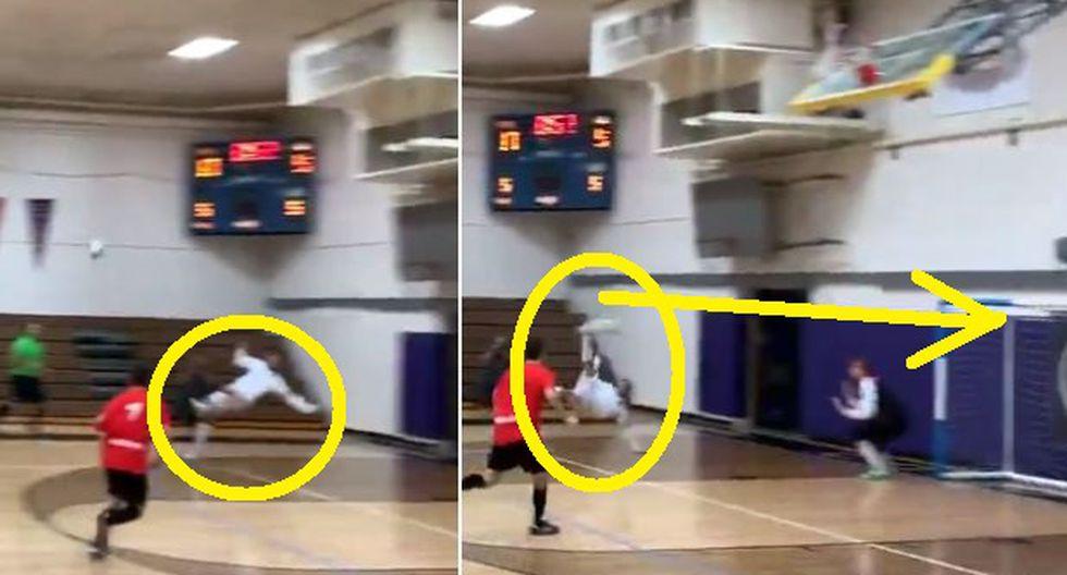 Videos virales: Descomunal golazo de chalaca en liga de Futsal MLF Video