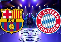 Barcelona vs Bayern Munich: Qué canal y a qué hora transmiten en vivo el partido por cuartos de final de Champions League
