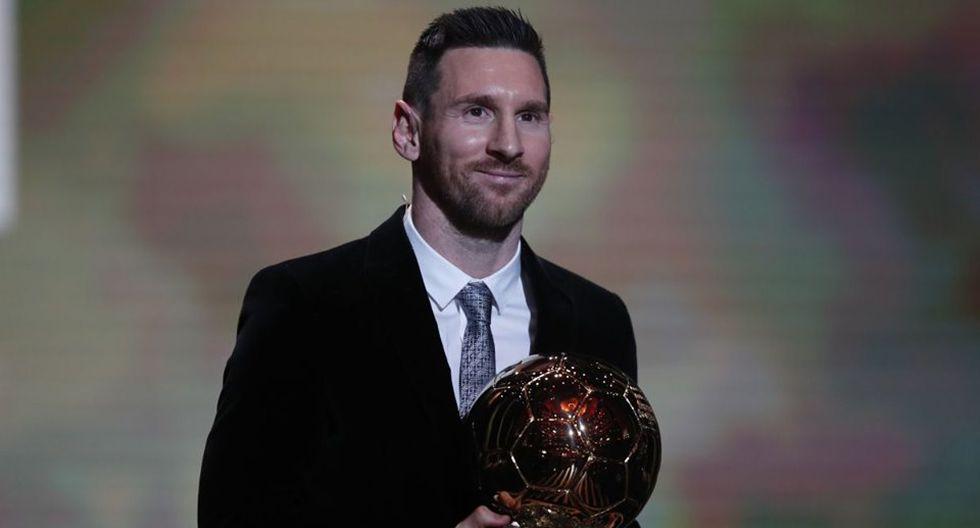 Lionel Messi ganó el sexto Balón de Oro de su exitosa carrera deportiva   Foto: AP