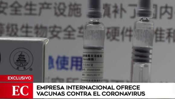 Empresa ofreció enviar en 17 días las vacunas al Perú. (Captura América)