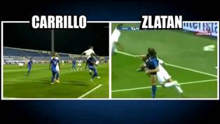 André Carrillo fue comparado con Zlatan Ibrahimovic tras anotar un golazo con Al Hilal