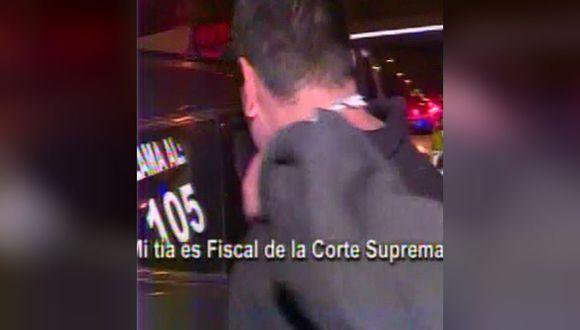 Presunto delincuente amenaza a policía con su 'tía fiscal' tras feroz persecución y balacera