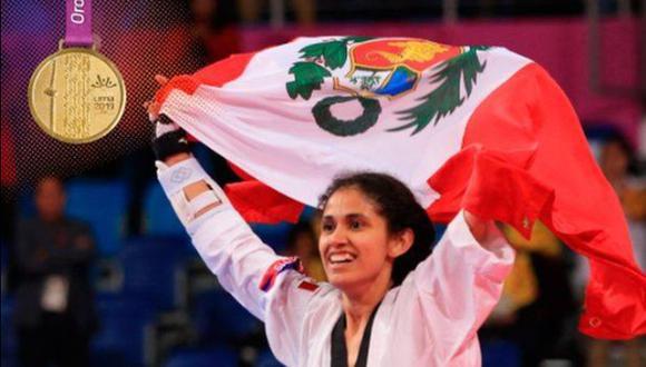 Espinoza venció a la mexicana Claudia Romero por 20 puntos de diferencia. (Foto: IPD)