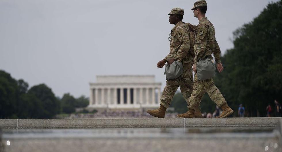 El presidente de Estados Unidos, Donald Trump, ordenó el domingo la retirada de Washington de la Guardia Nacional, alegando que la situación está bajo control. (Foto: Drew Angerer/AFP)