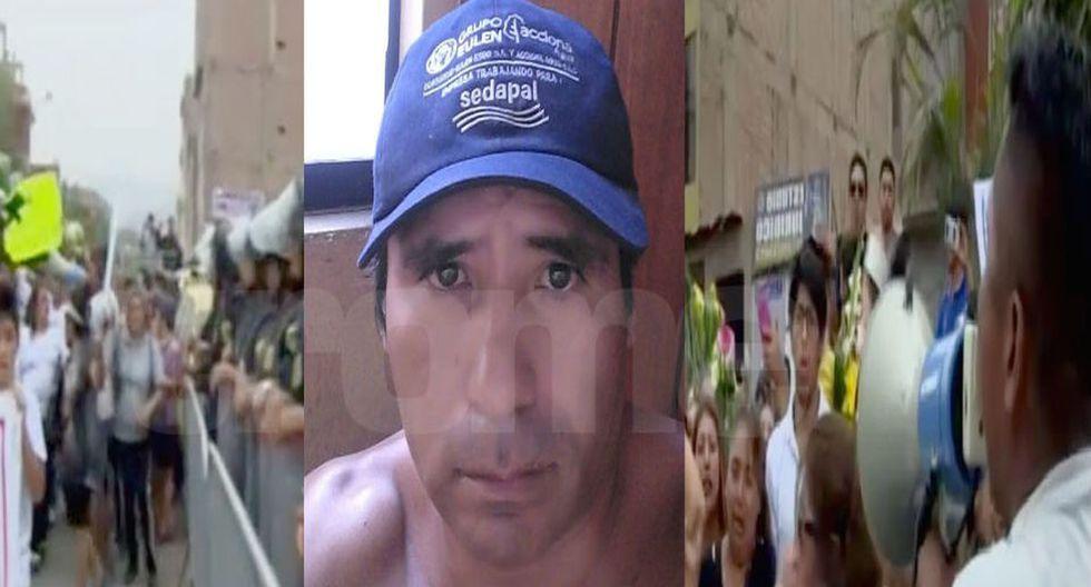 César Alva Mendoza no mostró tener ningún temor  al momento de ser capturado en Ica. El sujeto es el principal sospechoso por la muerte de niña en San Juan de Lurigancho.