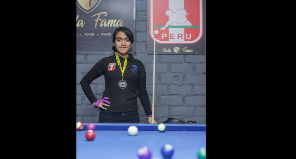 Katherine Salas Valverde quiere ir al Mundial de Pool en Europa.